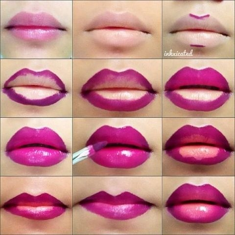 how to get fuller lips with makeup